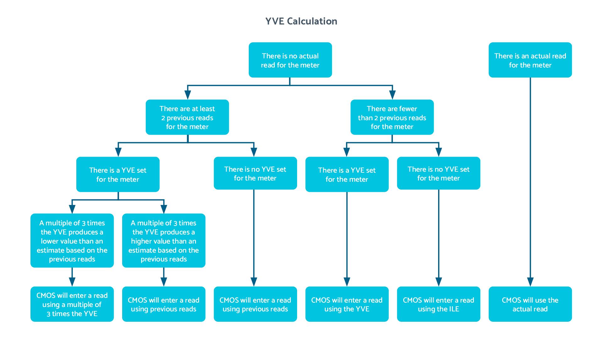 YVE Decision Flow Diagram